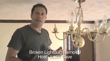10 Sec Tip - Broken Lightbulb Removal