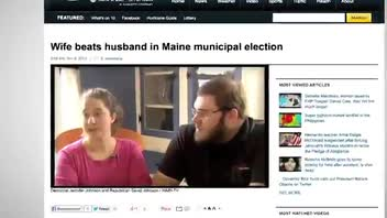Woman Beats Husband in Warden Election
