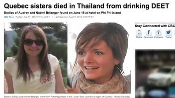 Gruesome Deaths of Sisters in Thailand Linked to Local Drink