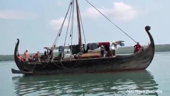 Viking Ship Gives Australian Officials a Scare