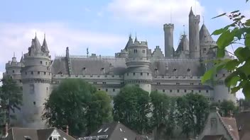 Chateau Pierrefonds - Great Attractions (Oise, France)