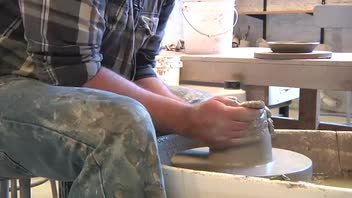 Pottery: How to Make a Bottle Form