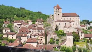 French Village of St Cirq Lapopie - Great Attractions (St Cirq Lapopie, France)