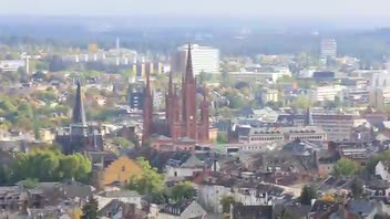 Wiesbaden's Market Church - Great Attractions (Wiesbaden, Germany)