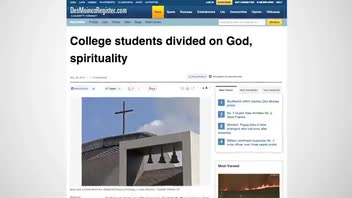 College Students Evenly Split on Religious Belief