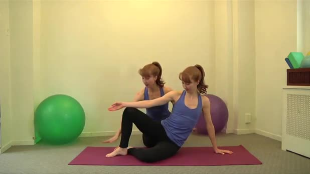 How to Do Pilates Side Bend Exercise - Women's Fitness