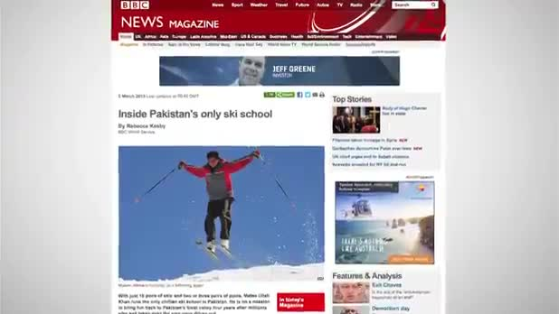 Pakistan's Sole Ski School - Malam Jabba