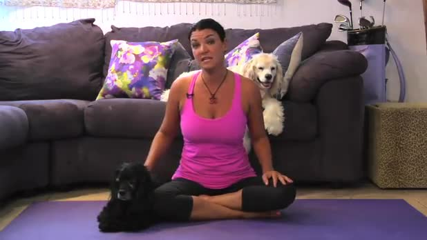 Benefits of Doga (Yoga with Pets)
