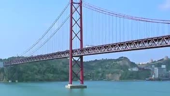 25th of April Bridge - Great Attractions (Lisbon, Portugal)