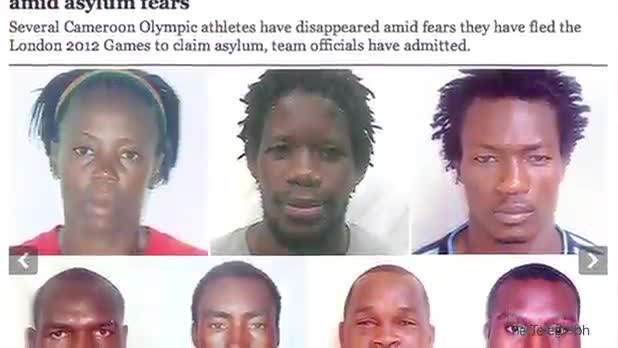 7 Olympic Athletes Go Missing