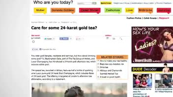 London Hotel Offers 24-Karat Gold Tea
