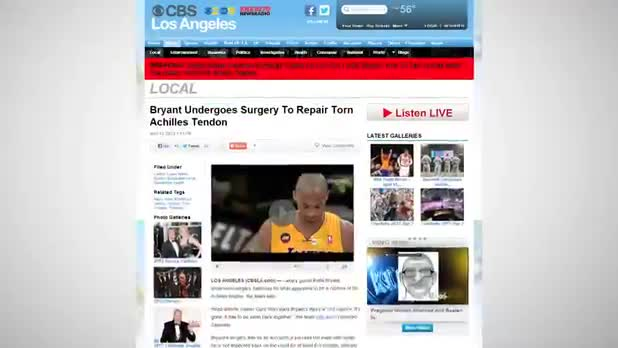 Kobe Bryant Slated for Bench Following Surgery