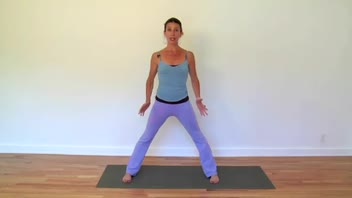 Kundalini Yoga - Wide Standing Dynamic Forward Fold - Women's Fitness