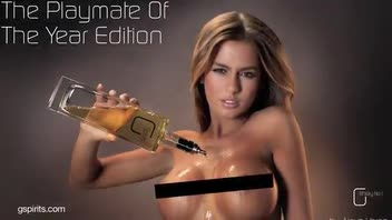 New Liquor Contains Booze Poured Over Naked Models