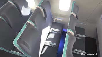 New Passenger Seating Concept for Airplanes