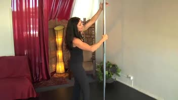 Pole Dancing for Fitness - Back Hook Open