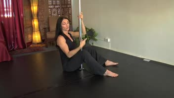 Pole Dancing for Fitness - Seated Climb