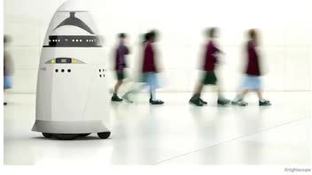 Security Guard Robots Spark Debate