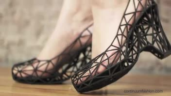 Shoes Created Using 3D Printer