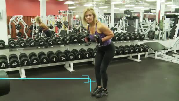 How to Do Tricep Kickback - Women's Fitness
