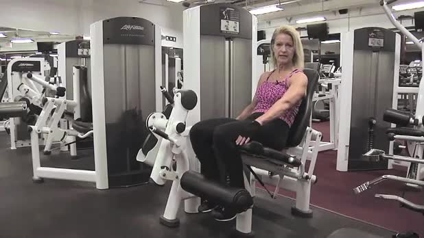 How to Do Leg Extensions - Women's Fitness