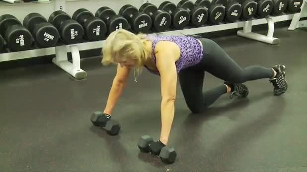 How to Do Push-ups with Dumbbells - Women's Fitness