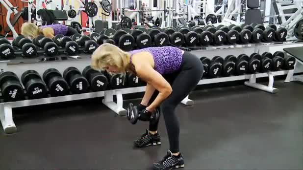 How to Do Rear Lateral Raise - Women's Fitness