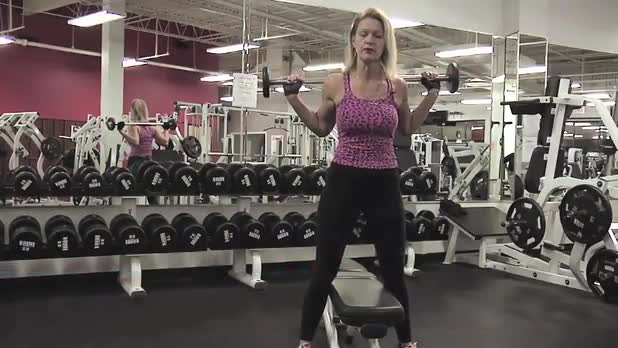 How to Perform Barbell Squat on Bench - Women's Fitness