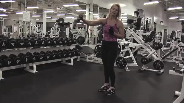 Reverse Lunge with Kick  - Women's Fitness