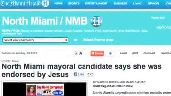 'Jesus Endorsed' Mayoral Candidate Comes in Last Place