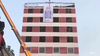 10-Story Building Erected in 48 Hours