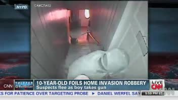 10-Year-Old Boy Tricks and Thwarts Robbers