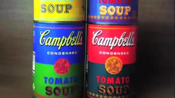Campbell's Soup Offers Andy Warhol Cans
