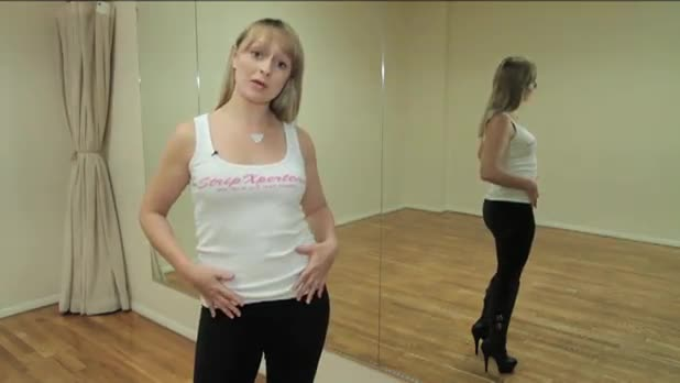 Fitness Through Sensual Dance - Robert and Lotion Move - Women's Fitness