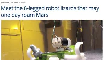 Lizard-Inspired Robot Created By Researchers