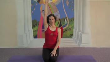 Yoga - Cow Face Pose Easy Variation - Women's Fitness
