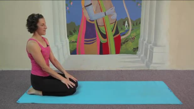 Yoga - Hare Pose - Women's Fitness