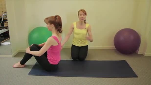 How to Do Pilates Rolling Like a Ball Exercise - Women's Fitness