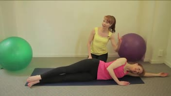 How to Do Pilates Side Kick Exercise - Women's Fitness