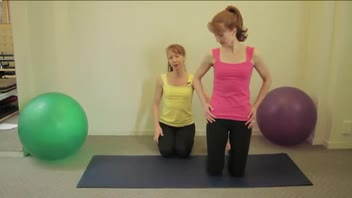 How to Do Pilates Side Kick Kneeling Exercise - Women's Fitness