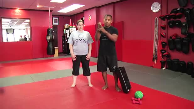 Self-Defense Workout: Hammer Fists - Women's Fitness