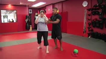 Self-Defense Workout: Hook - Women's Fitness