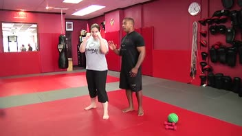 Self-Defense Workout: Jab - Women's Fitness