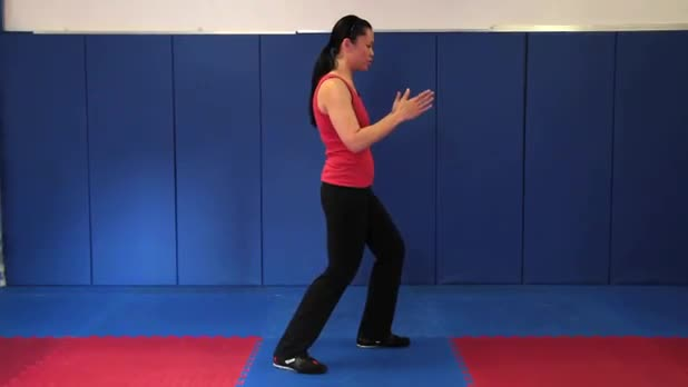 Tai Chi: Lifting Hands into Shoulder Strike - Women's Fitness