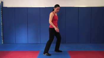 Tai Chi: Playing Guitar to Brush Knee and Push - Women's Fitness