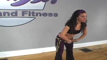 Belly Dancing: Wide Pelvic Rotation - Women's Fitness