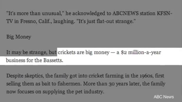 Cricket Farming - An Unexpectedly Lucrative Profession