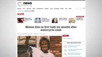 Woman Killed During Her First Walk Outside After Surviving Cancer