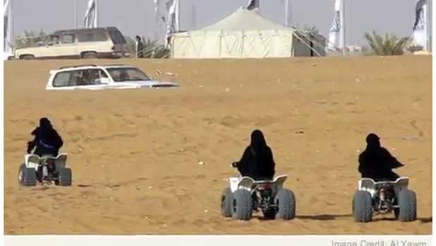 Saudi Women Now Permitted to Ride Bikes