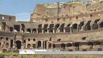 Leaning Colosseum Worries Romans